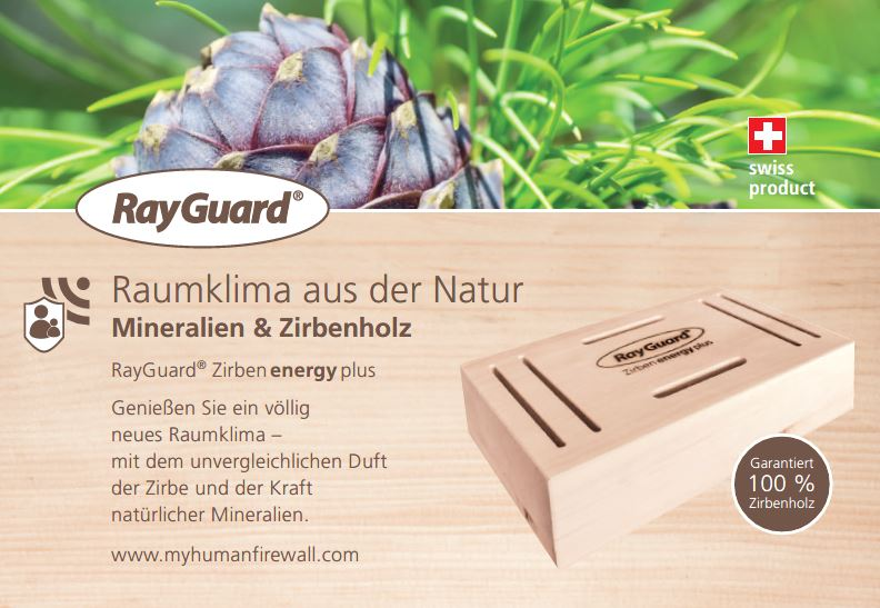 "RayGuard ""Zirben energy plus"""